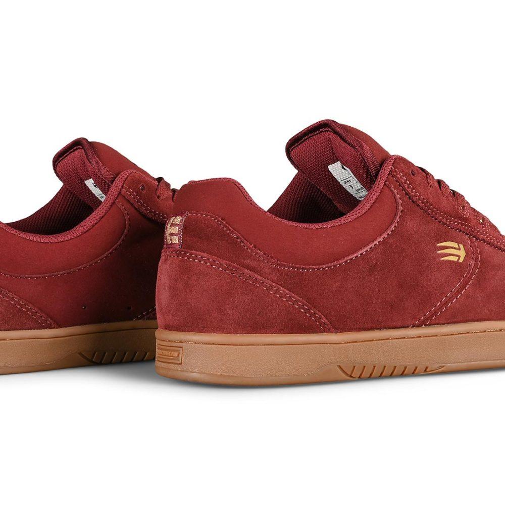 Etnies Joslin Skate Shoes - Burgundy / Gum