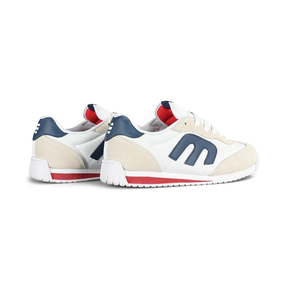 Etnies Lo-Cut CB Skate Shoes - White / Navy