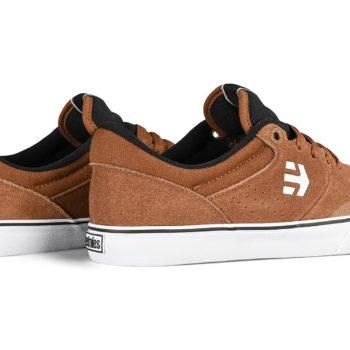 Etnies Marana Vulc Skate Shoes - Brown / Black / White