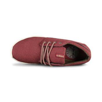 Etnies Scout Shoes - Burgundy / Tan / Gum