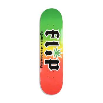 "Flip HKD Legalize 8.25"" Skateboard Deck - Rasta"