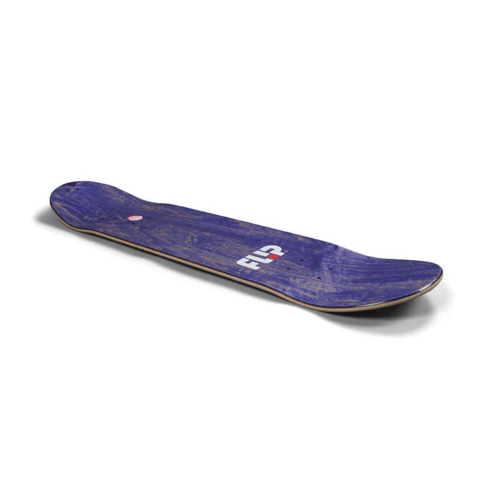 """Flip Tom Penny Loveshroom 8"""" Skateboard Deck - Blue Stain"""