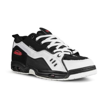 Globe CT-IV Classic Skate Shoes - Black / White / Red