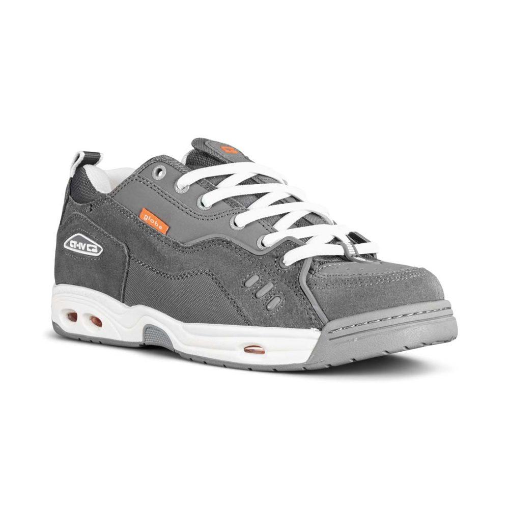 Globe CT-IV Classic Skate Shoes - Grey / White / Orange