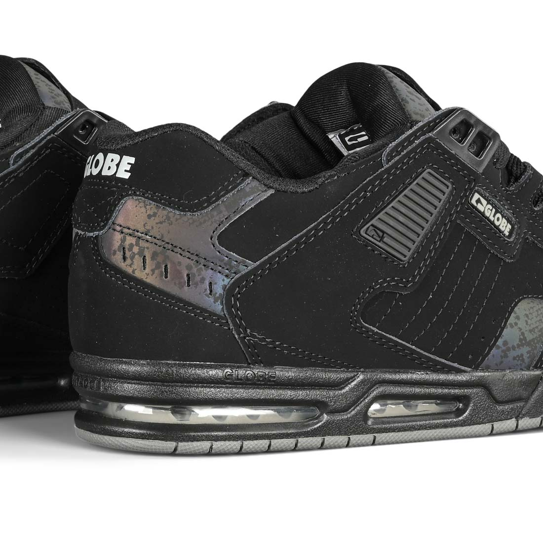 Globe Sabre Skate Shoes - Black / 3M