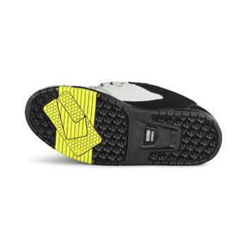 Globe Sabre Skate Shoes - Grey / Black Split