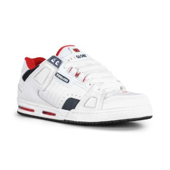 Globe Sabre Shoes White Red Blue