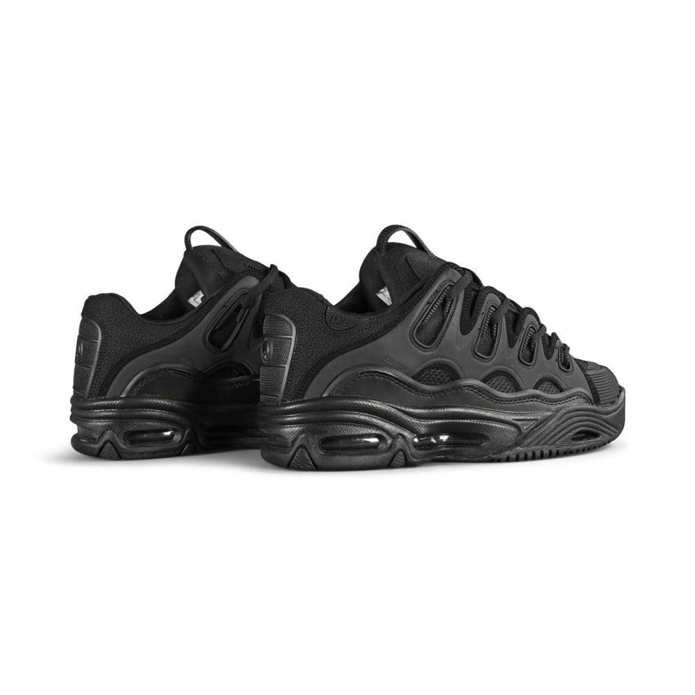 Osiris D3 2001 Skate Shoes – Black / Black / Black