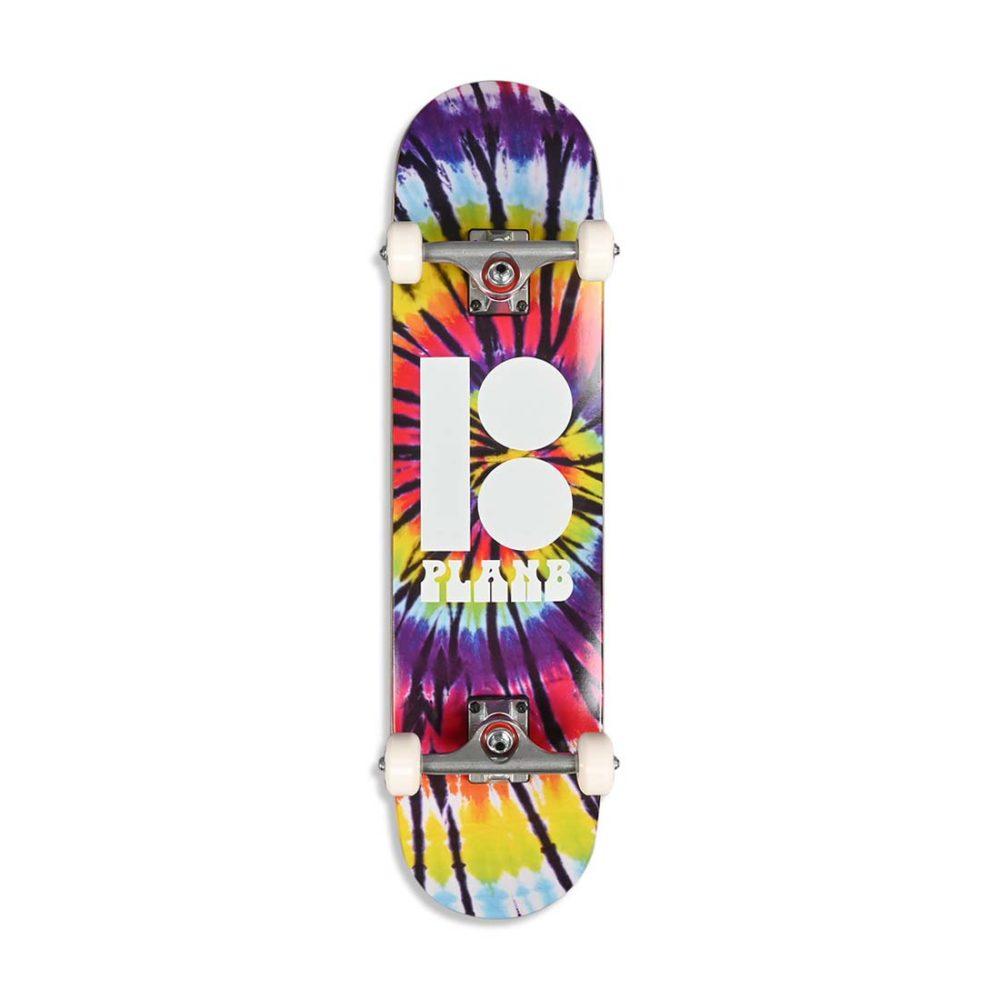 "Plan B Team Spiral 7.75"" Complete Skateboard"