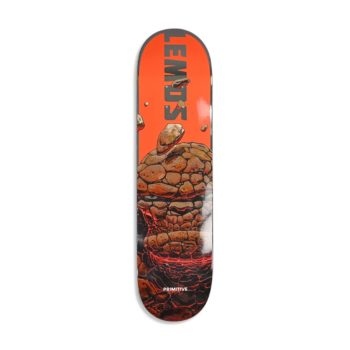 "Primitive Tiago Lemos ""The Thing"" 8.0"" Skateboard Deck - Orange"
