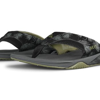 Reef Fanning Prints Sandals - Olive Palm