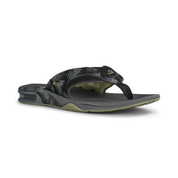 Reef Fanning Prints Sandals - Olive Palm