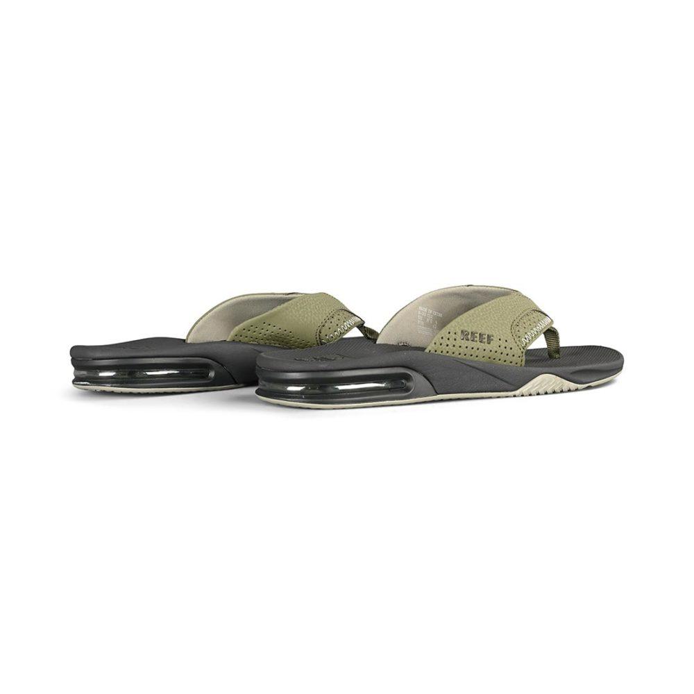 Reef Fanning Sandals - Deep Olive