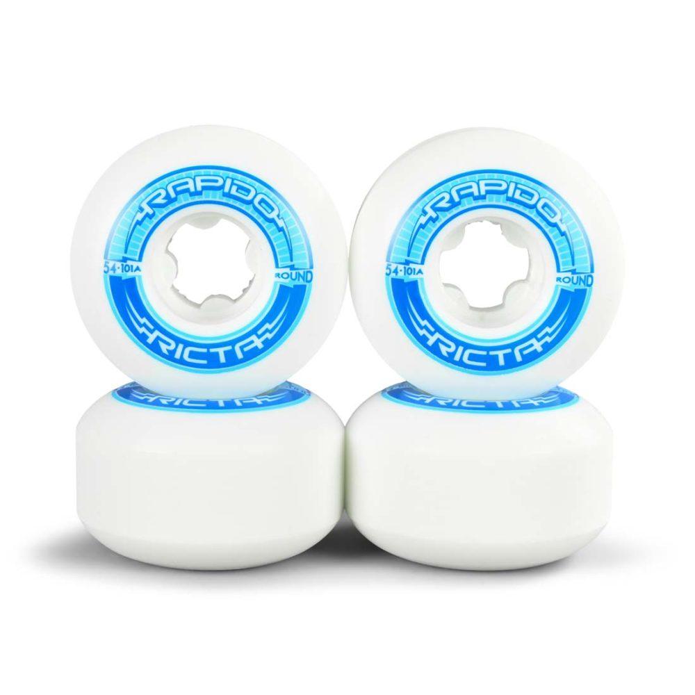 Ricta Rapido Round 54mm 101a Wheels - White