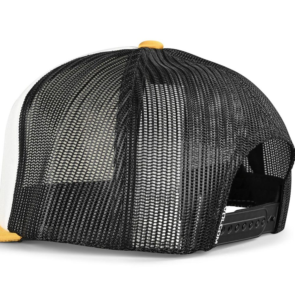 Volcom Full Frontal Mesh Back Cap - Gold