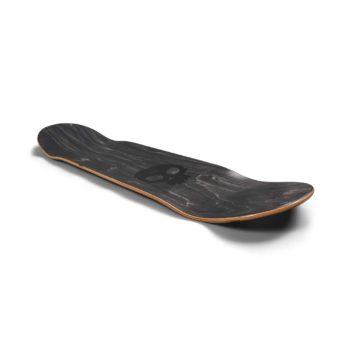 Zero 3 Skull Blood Skateboard Deck - Black / White / Red