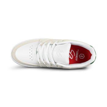eS Accel Slim Skate Shoes - White / Green