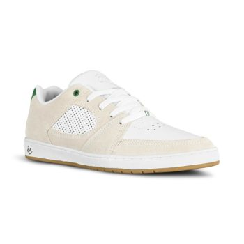 eS Accel Slim Skate Shoes - White / Green
