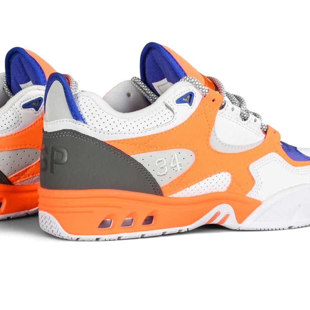 DC Shoes Kalis OG x JSP - White / Orange