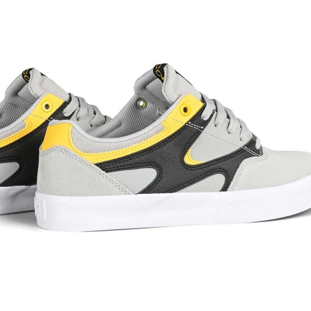 DC Shoes Kalis Vulc - Grey / Black / Yellow