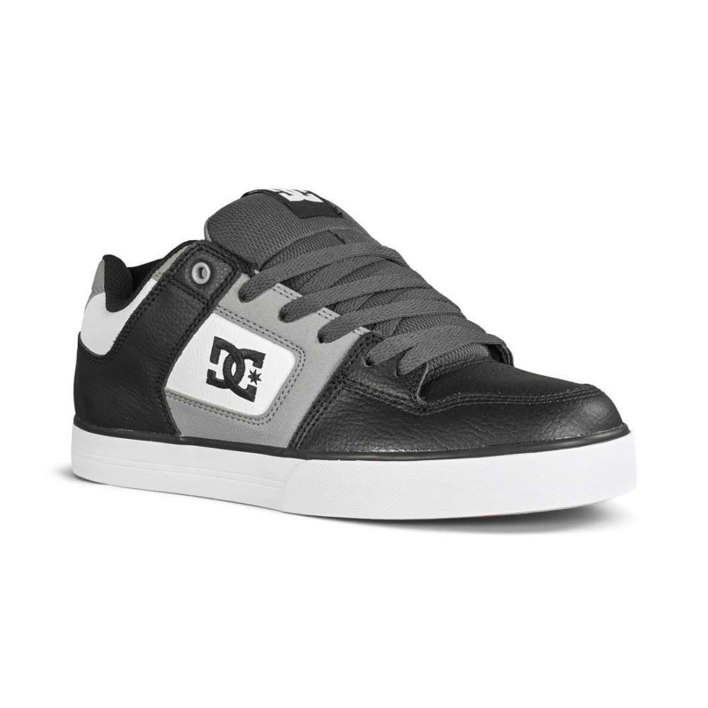 DC Shoes Pure - White / Grey / Black