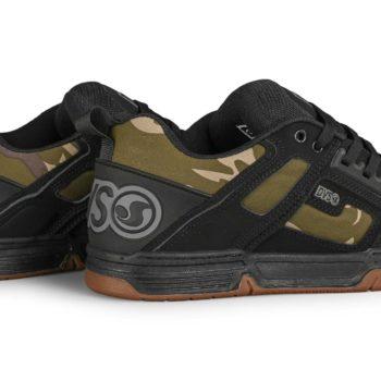 DVS Comanche Skate Shoes - Black / Camo