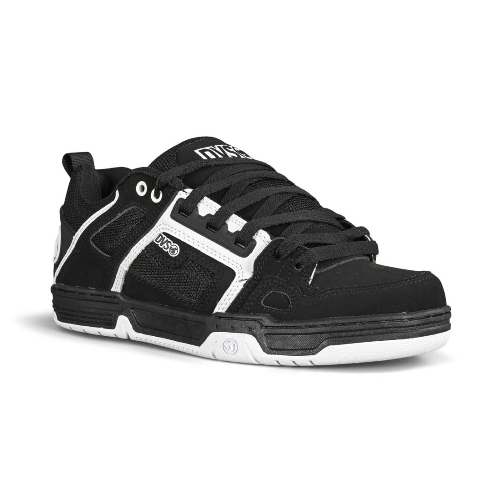 DVS Comanche Skate Shoes - Black / White