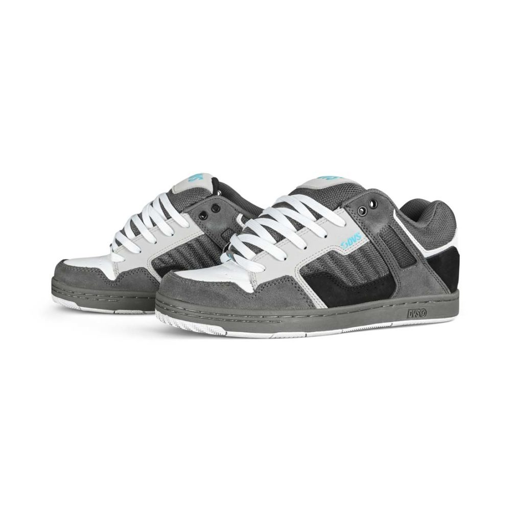 DVS Enduro 125 Skate Shoes - Black / Grey / White