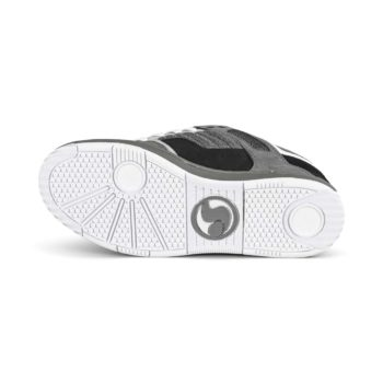 DVS Enduro 125 Skate Shoes - Black / Grey / White