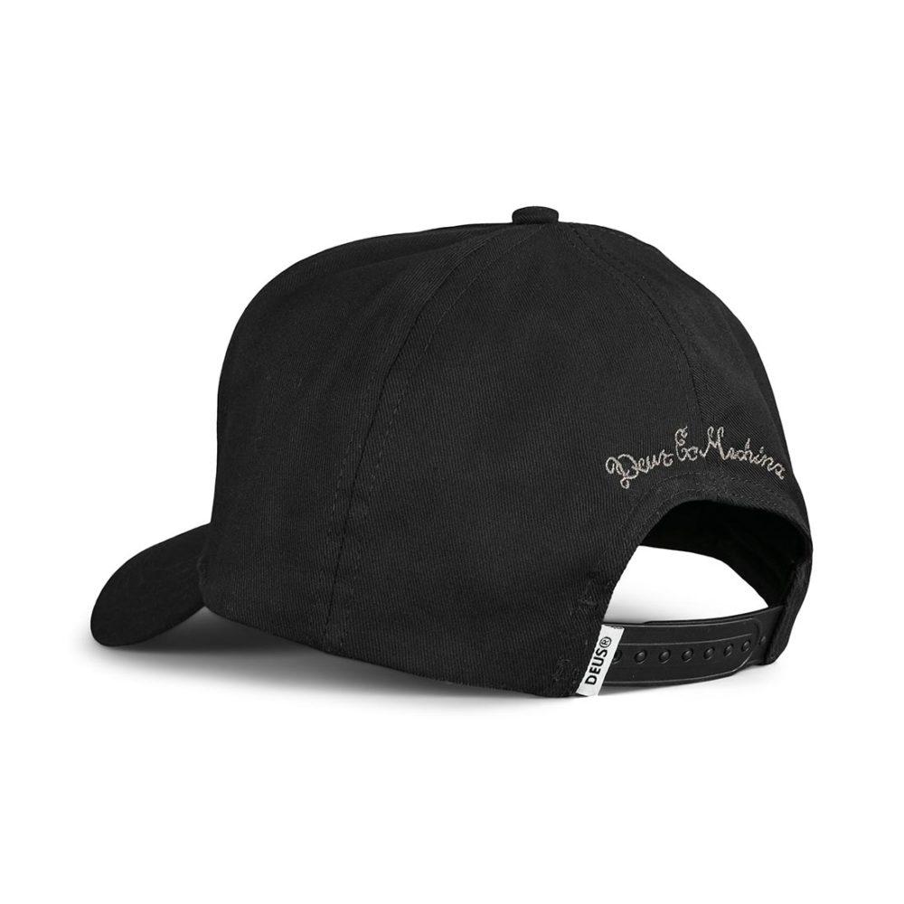 Deus Ex Machina Benzin Trucker Cap - Black