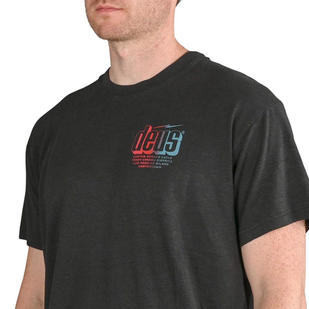 Deus Ex Machina Slab S/S T-Shirt - Phantom Black