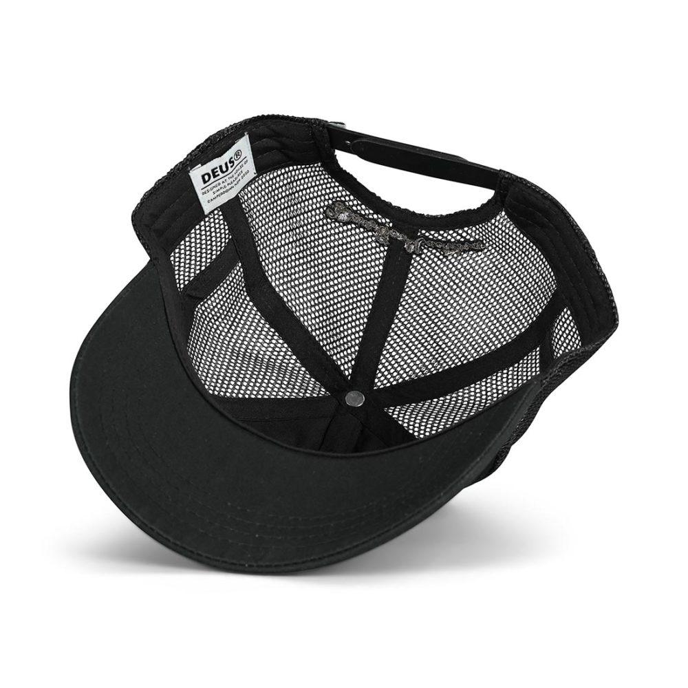 Deus Ex Machina Woven Shield Mesh Back Cap - Phantom Black