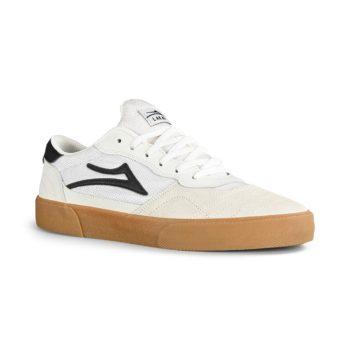 Lakai Cambridge Skate Shoes - White / Black