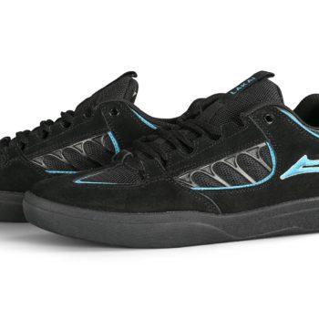 Lakai Carroll Skate Shoes - Black Suede