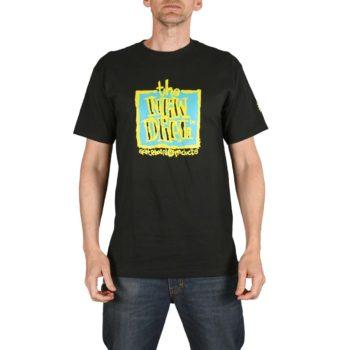 New Deal Original Napkin Logo S/S T-Shirt - Black