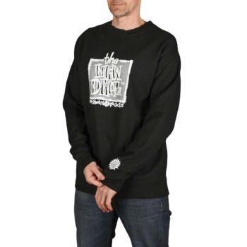 New Deal Original Napkin Pullover Crew - Black