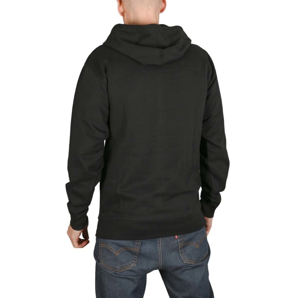 New Deal Spray Can Pullover Hoodie - Black