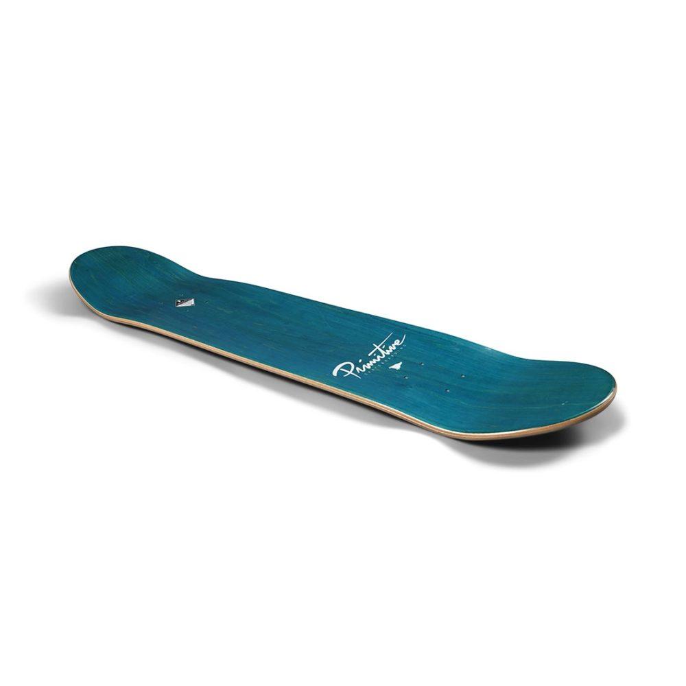 "Primitive Nuevo Script 8"" Skateboard Deck - Black"