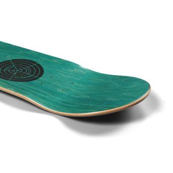 """Primitive Silvas Color Waves 8.125"""" Skateboard Deck"""