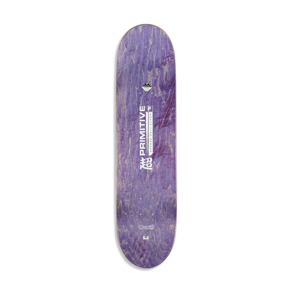 "Primitive x DBS Team Resurrection 8.1"" Skateboard Deck - Silver"