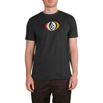 Volcom Vast S/S T-Shirt - Heather Black
