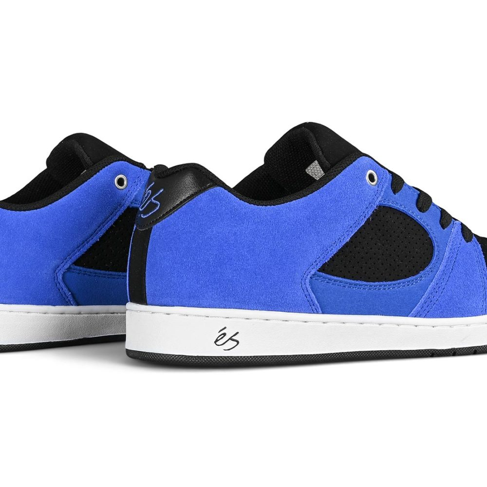 eS Accel Slim Skate Shoes - Royal / Black / White
