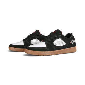 eS Accel Slim x Menikmati Skate Shoes - Black / White / Gum