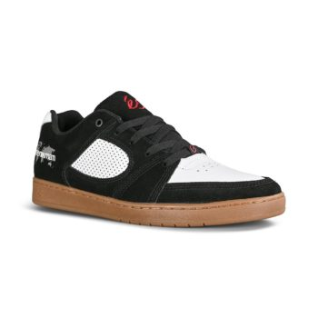 eS Accel Slim x Menikmati Skate Shoes - Black / White / Gum