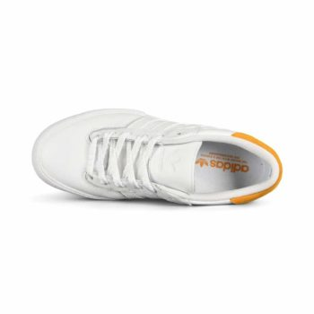 Adidas Matchbreak Super Skate Shoes - White / Yellow / White