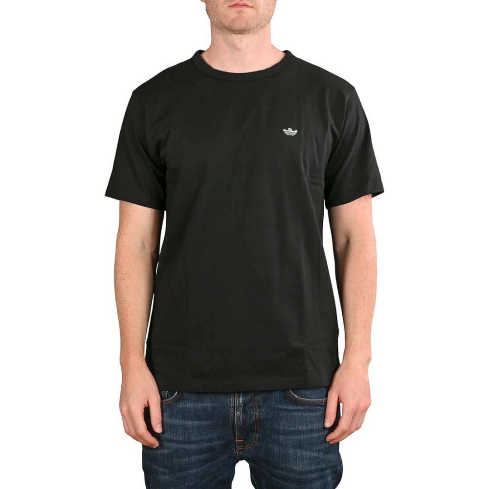 Adidas Shmoo Logo S/S T-Shirt - Black / Green Tint