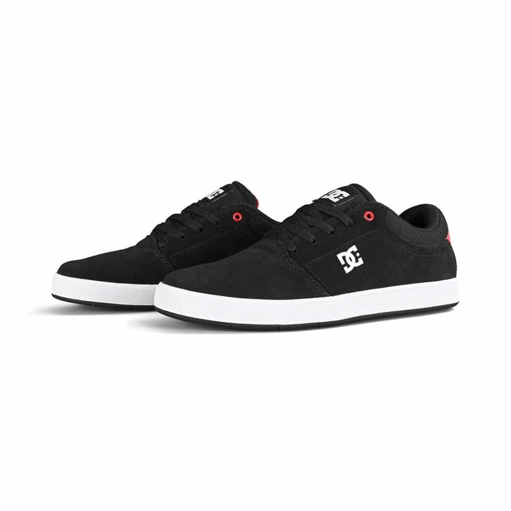 DC Shoes Crisis - Black / Red / White
