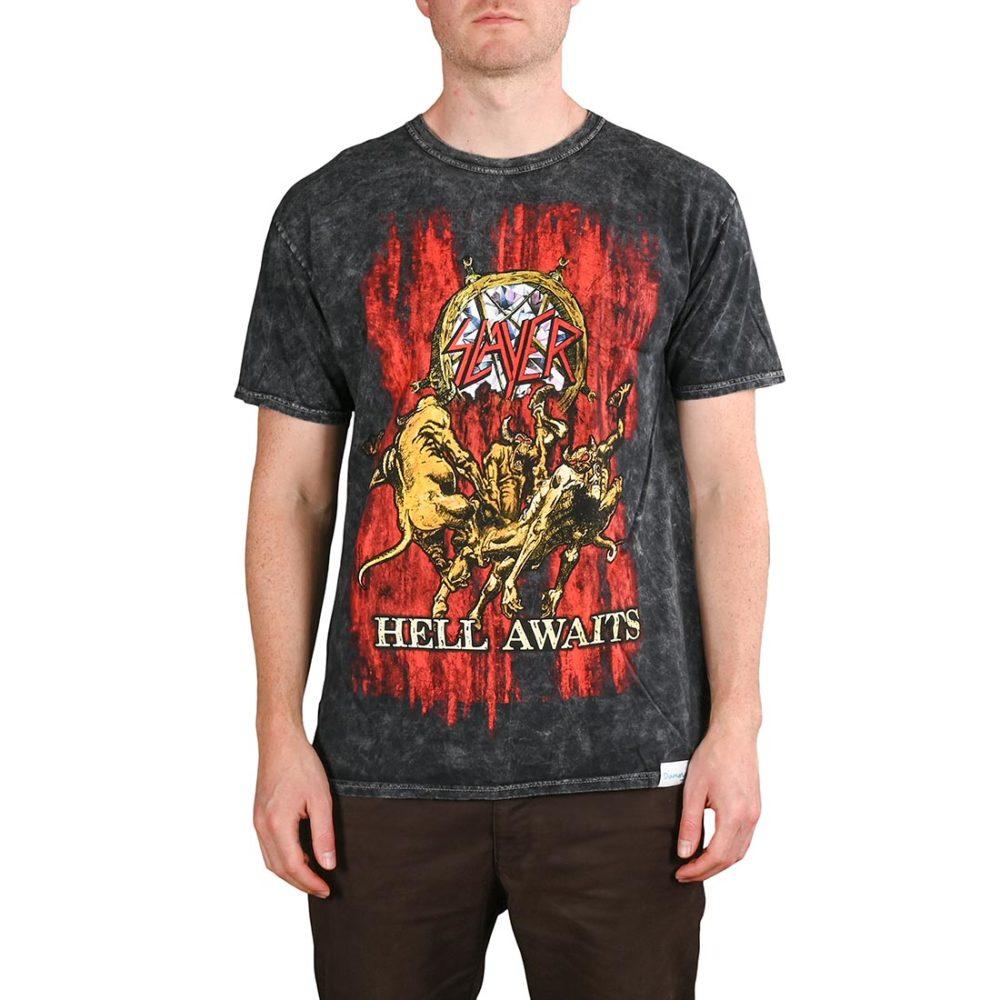 Diamond x Slayer Hell Awaits S/S T-Shirt - Black