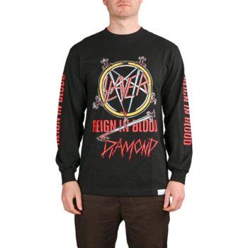 Diamond x Slayer Reign In Blood L/S T-Shirt - Black