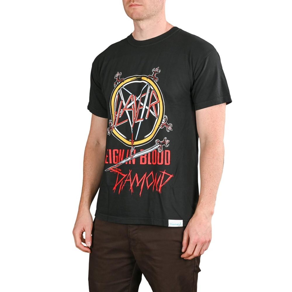 Diamond x Slayer Reign In Blood S/S T-Shirt - Black